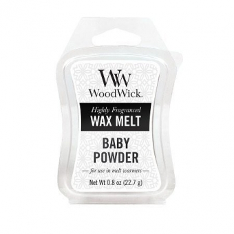 WoodWick Waxmelt – Baby Powder